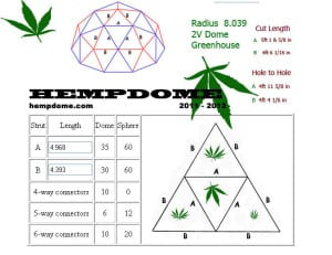 Hemp Dome plans for building a hemp dome